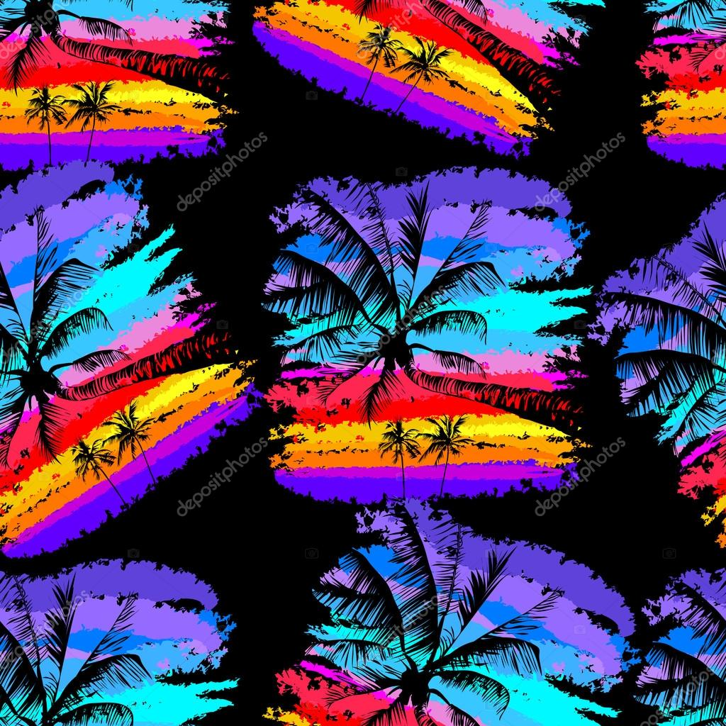 tropical pattern 20