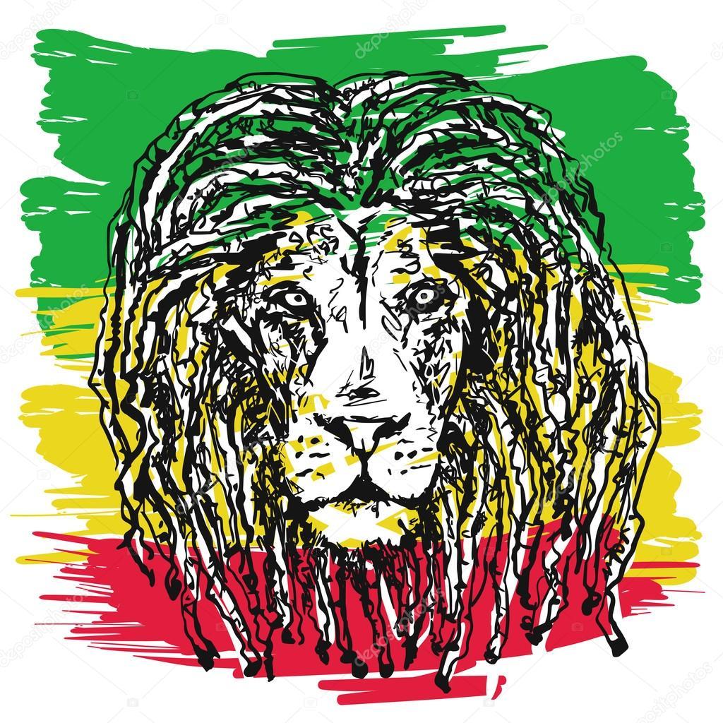 Rasta Lion Pic Rasta Lion Vector Stock Vector C Yulianas 107096240 Here are only the best rasta lion wallpapers. https depositphotos com 107096240 stock illustration rasta lion vector html