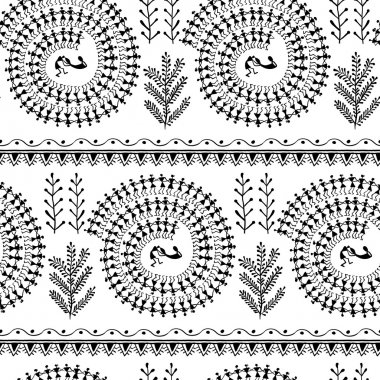 warli tribal art 2
