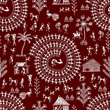 warli tribal art 6