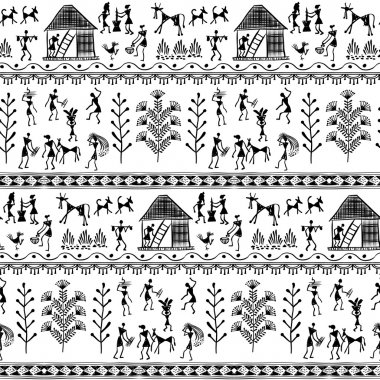 warli tribal art 8