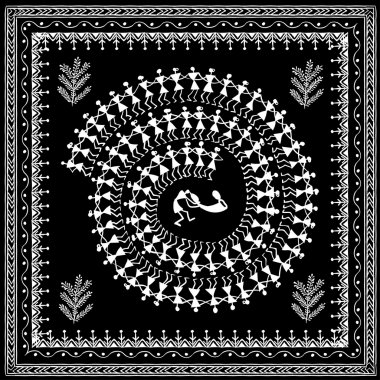 warli tribal art 10