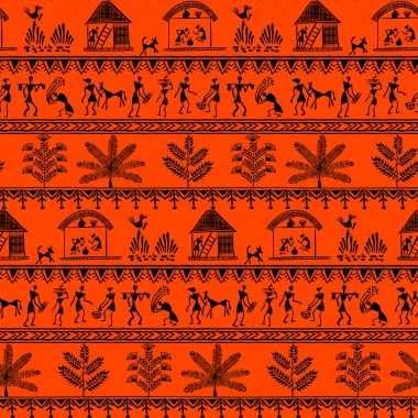 warli tribal art 9