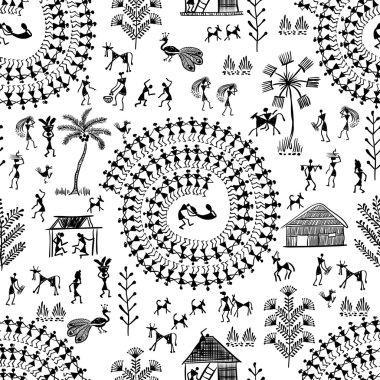 warli tribal art 7