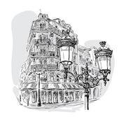 Fotografia Boulevard di Parigi