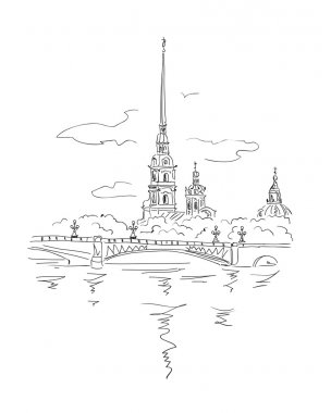 Peter and Paul Fortress in Spb