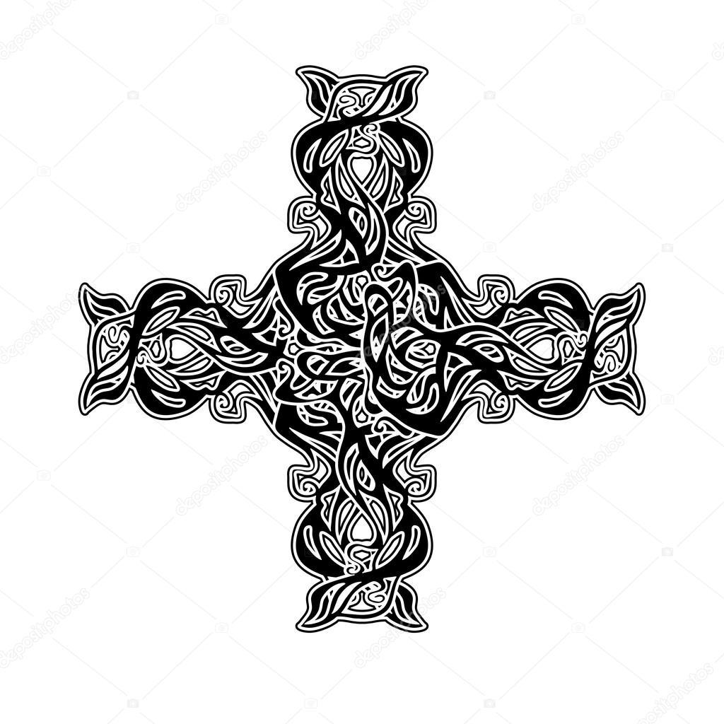 Cruz celta — Fotos de Stock © YulianaS #82071328