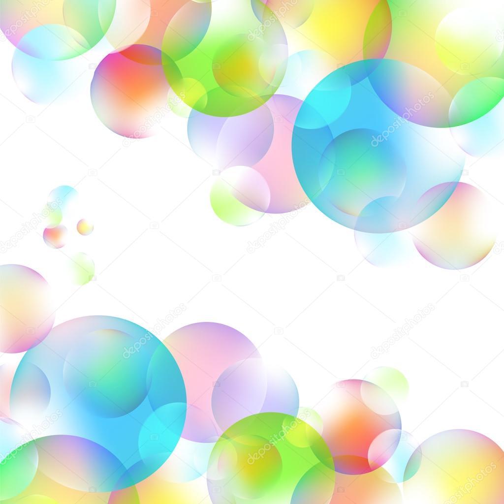 Bunte Blasen
