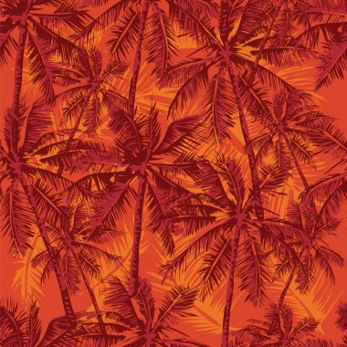 aloha tropical pattern