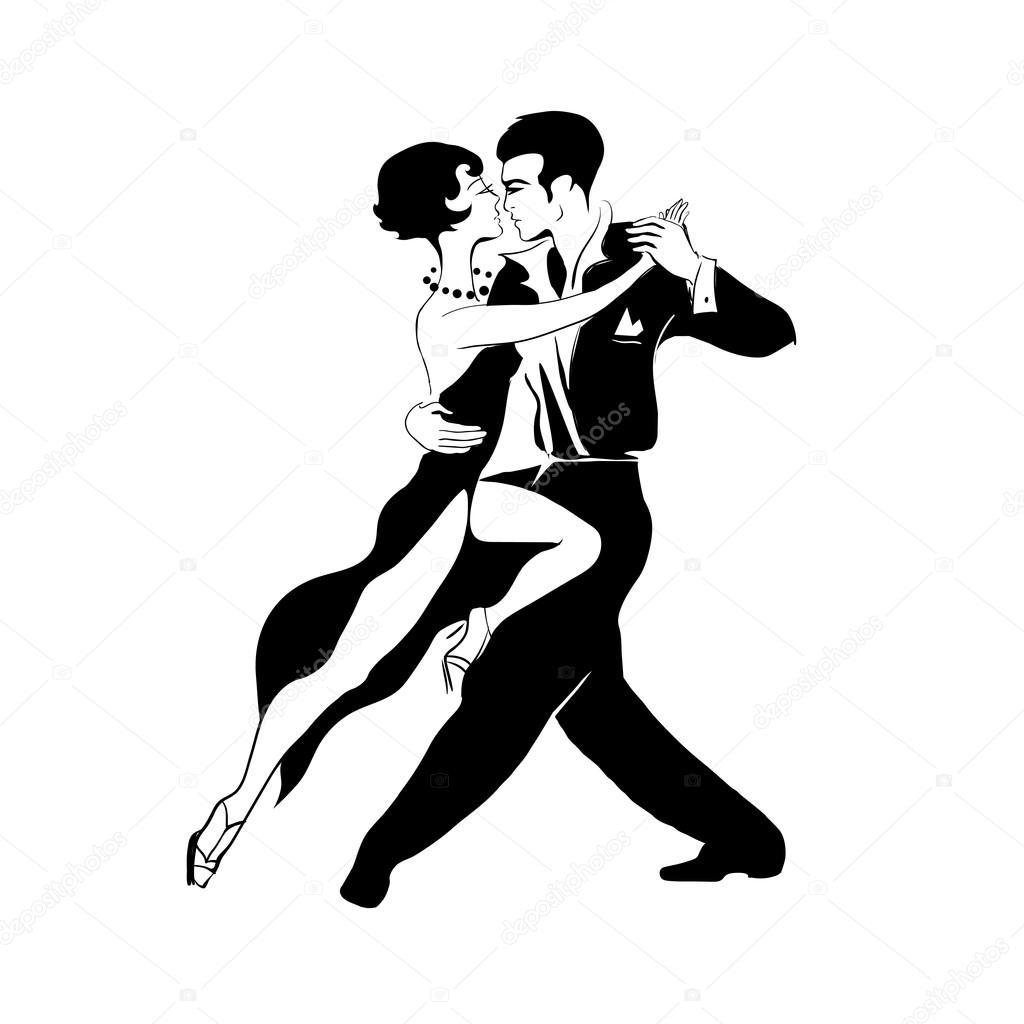 Appassionato tango argentino vettoriali stock yulianas for Immagini vector