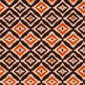 Ikat Ogee Background  4