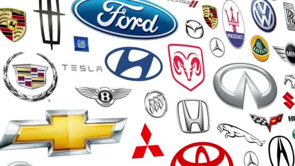 Auto Brands Logo Loop
