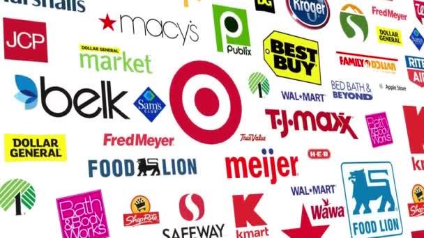 Maloobchodní značky Logo smyčka