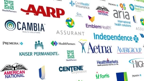Health Insurance Logo Loop
