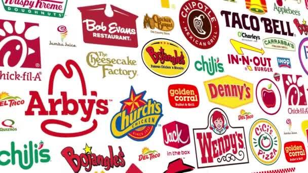 Food Brands Logo Loop