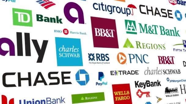 Bankovní značky Logo smyčka
