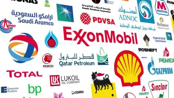 Oil Companies Logo Loop