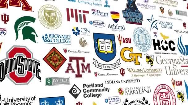 Vysoká škola Logo smyčka