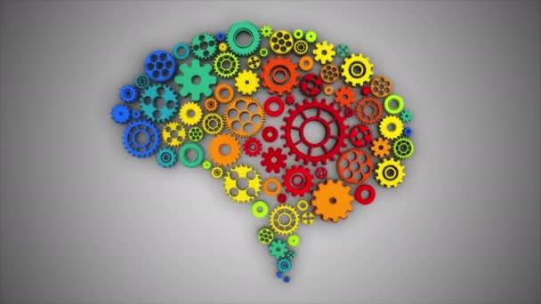 Mozku zařízení rotující bezešvá smyčka