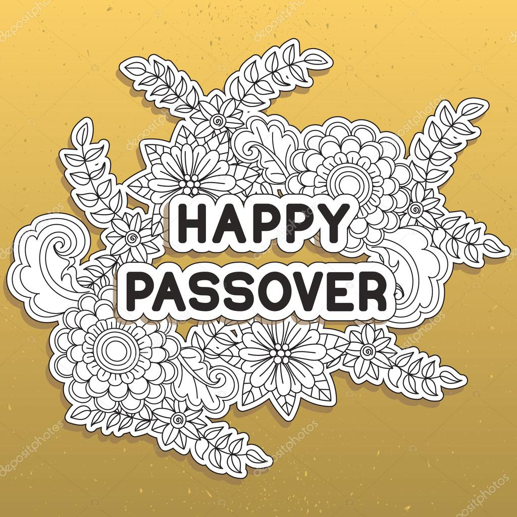 Happy passover greeting card stock vector elinorka 104447272 happy passover greeting card stock vector m4hsunfo