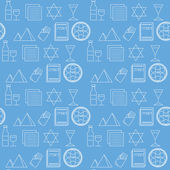 Fotografie Passover seamless pattern background
