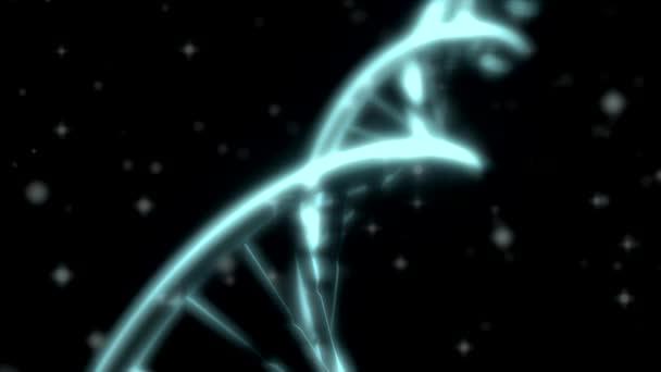 DNA Rna dvojšroubovice pomalý sledování snímku closeup hloubka ostrosti Dofwhite