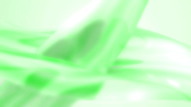 Green abstract background loop defocused stylish backdrop