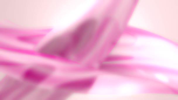 Růžová abstraktní pozadí smyčky rozostření stylová pozadí