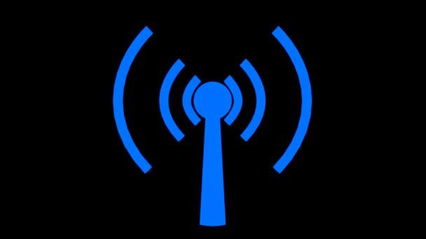 WiFi bezdrátové internetové netrwork čisté připojení ikony logo wi-fi wi fi