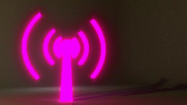 WiFi drahtloses Internet Netrwork net-Verbindung Symbol Logo wi-Fi WLAN