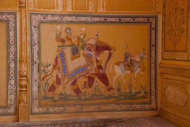 """Картина, постер, плакат, фотообои """"форт нахагарх. джайпур. индия ."""", артикул 110502850"""