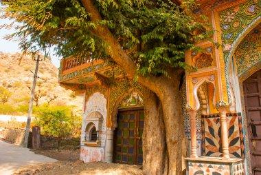 Architectural elements. Pushkar. India.