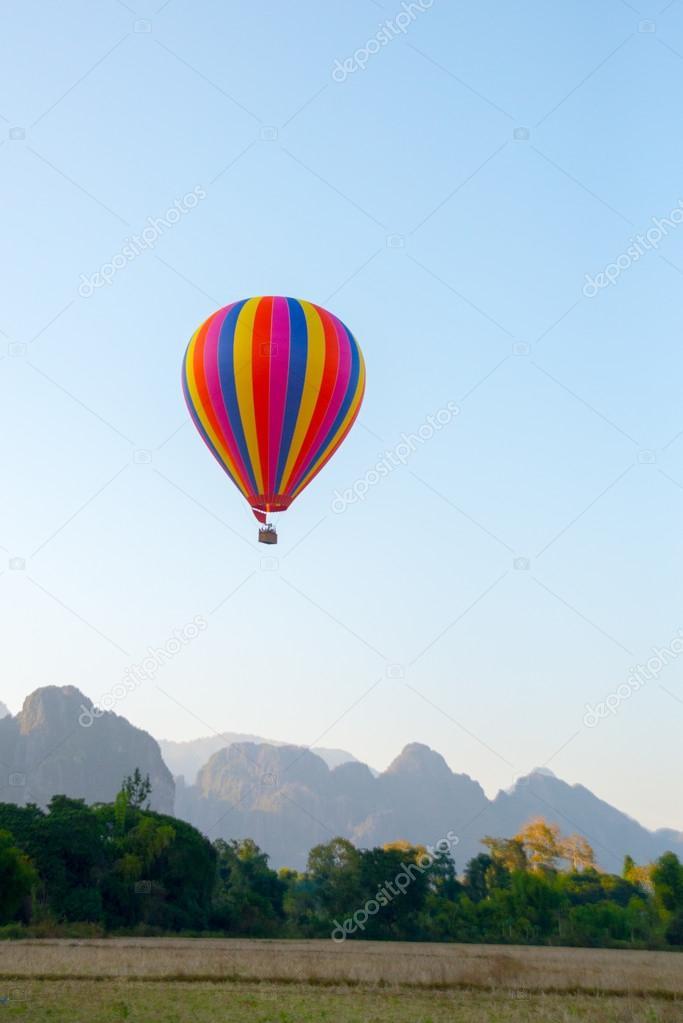 montgolfiere laos