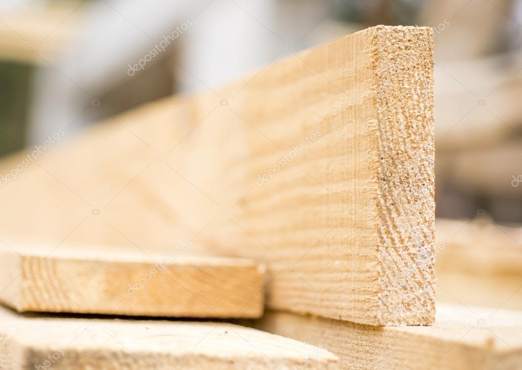 Close-up lumber