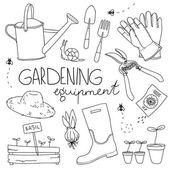 Fényképek a kertészeti felszerelést