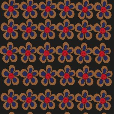 "Картина, постер, плакат, фотообои ""цветы в черном "", артикул 90516224"