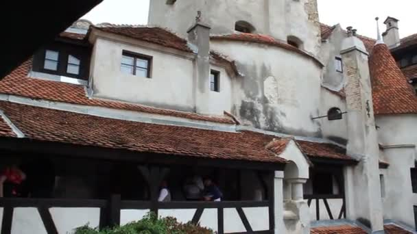 Romania. Bran. Dracula castle. Courtyard