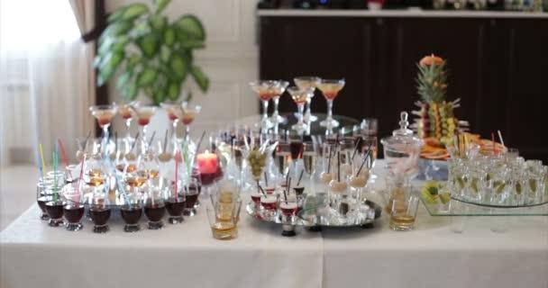 Restaurant. Table. Buffet.