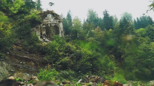 Bukovina waterfalls, Roztoky, Ukraine. Nice wide shot.