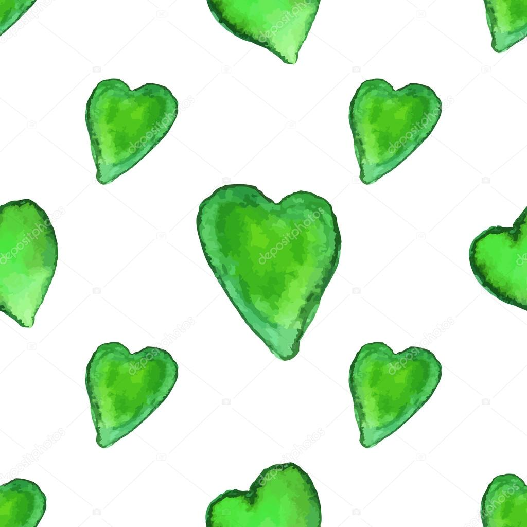 Kalp şekilleri Ile Seamless Modeli Stok Vektör Sunshineart