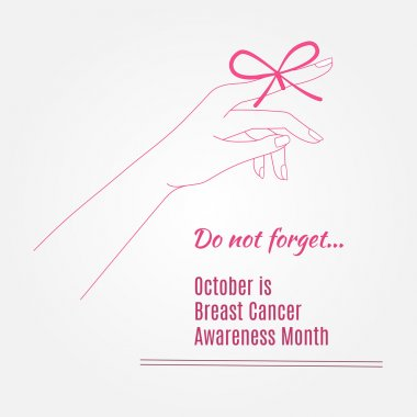 Breast Cancer Awareness Background elements and inspirat
