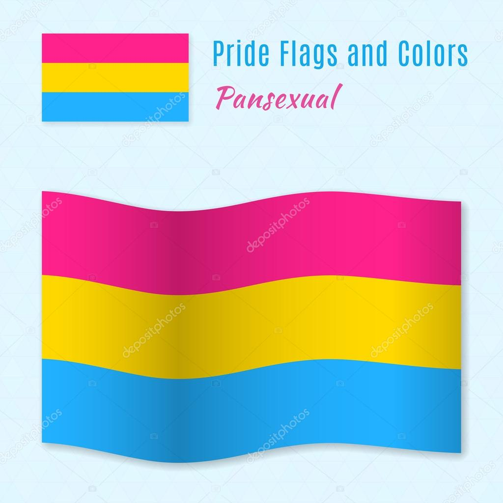 Pansexual flag color