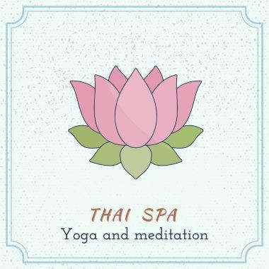 spa lotus flower