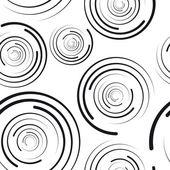 Fotografia modello senza saldatura cerchi concentrici