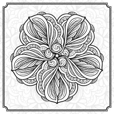 Abstract round design element