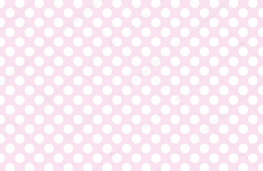 Polka Dot With Color Pastel Background