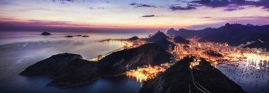 Rio de Janeiro's night view from Sugar Loaf