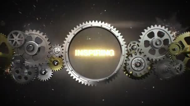 Connecting Gear wheels and make keyword,  INSPIRING (included alpha)