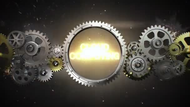 Connecting Gear wheels and make keyword,  CLOUD COMPUTING (included alpha)