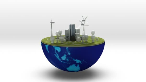 Earth changes Wind power energy panel, Eco-friendly energy.(included alpha)